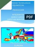 Produccion en Europa Mejorada