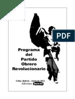 Programa Del POR