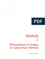 Philosophies of Design by Limit State Method