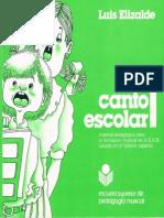 Método de Lenguaje Musical Canto Escolar 1. Reducido10