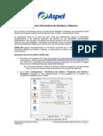 Declaración de Informativa de Sueldos y Salarios2013