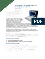 Como revivir un netbook Acer Aspire One.pdf