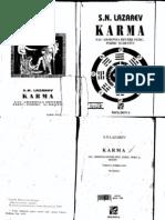 Lazarev Karma Sau Armonia Dintre FizicPsihic Si Destin