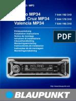 Milano Mp34 Notice Montage