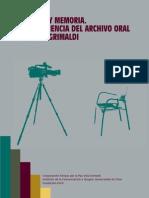 Libro Archivo Oral Villa Grimaldi