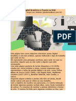 Art Digital Brasileira e Poesia Na Web