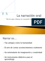 903241 La Narracion Oral