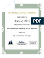 vga certificate 18recertpoints richmond re