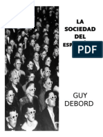 Sociedad Del Espectaculo