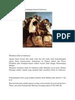 Proses Masuk Dan Perkembangan Islam Di Indonesia