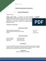 Reglamento Torneo Internacional de Pesca 2014