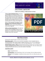 Nativity Scene Newsletter April 2014