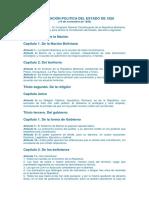 CONSTITUCIÓN POLITICA DEL ESTADO DE 1826