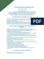 CONSTITUCIÓN POLITICA DEL ESTADO DE 1839