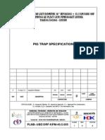 10. PLNB-UBE-OrF-KPM-40.5.005 Pig Trap Specification Rev 0-1