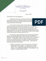 Berkshire County Neighbors Letter