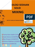 Mixing Solid
