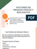 Factores de Riesgos Fisicos y Biologicos......... Expo