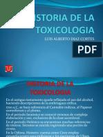Historia de La Toxicologia
