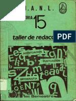 Taller de Redaccion UANL