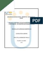 Modulo Legislacion Laboral