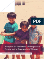 A Report on the Internally Displaced People