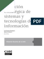 Direccion Estrategica de Sistemas y Tecnologias de La Informacion (Intro)