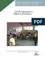 Manual Capacitacion Lideres Comunitarios