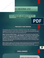 Sales & Marketing Report_2013