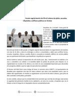 01-04-14 014 BOLETÍN - Anuncia Manuel Ignacio Acosta regularización de 30 mil solares de ejidos, escuelas, hospitales y edificios públicos en Sinaloa