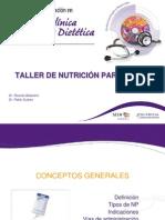 Taller Nutricion Parental