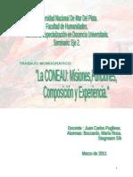 3-La CONEAU Misiones Funciones Composicion y Experiencia.