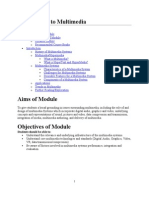 0055 Introduction to Multimedia Systems Notes