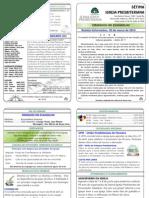 174 Boletim Informativo 30 de março de 2014