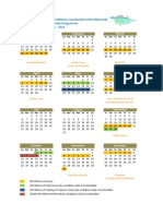 OCHA UN-CMCoord 2014 Calendar of Events