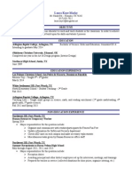 lauras resume 2014