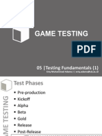 GT 05 Testing Fundamentals 1