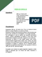 Ricette - Torte Rustiche, Torte Salate, Pizze e Focacce