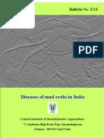 Diseases of mud crab in India