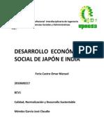 El Crecimiento y Desarrollo Economico de La India