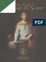 Las Siete Partidas de Alfonso El Sabio. Partida Segunda