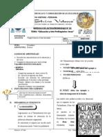 Módulo eduacion y arte prehispanico - incas 5to año 2013