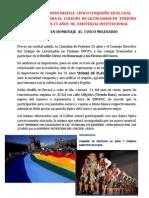 Participacion Del Colitur en Homenaje Al Cusco Milenario