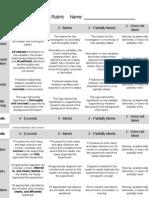 04 formal lab report rubric