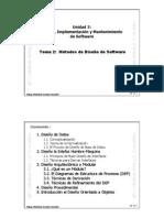 U3-T2 - Métodos de Diseñoo