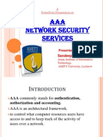 AAA Network Security Services