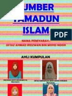 Sumber Utama Tamadun Islam