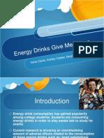 Energy DrinksFinal Research Presentation
