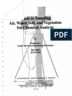 Sampling Procedures in microbiology