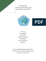 Nursing Case Study of Electric Burn Injury (Edit Nisa) Sdah Di Edit New 2